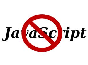 No JavaScript